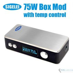 Sigelei 75W TC + 1 Battery