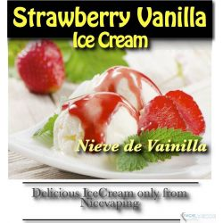 Strawberry Vainilla IceCream Premium