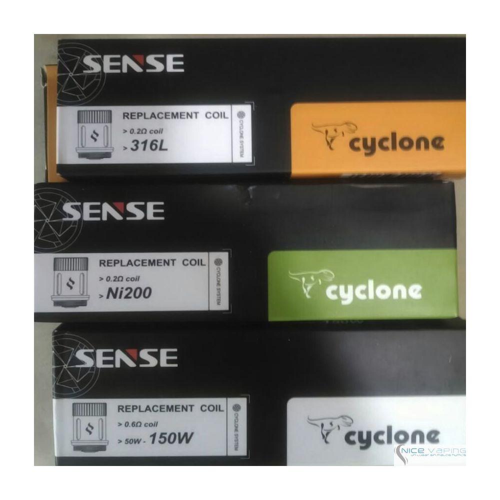 Sense Cyclone Coil Heads