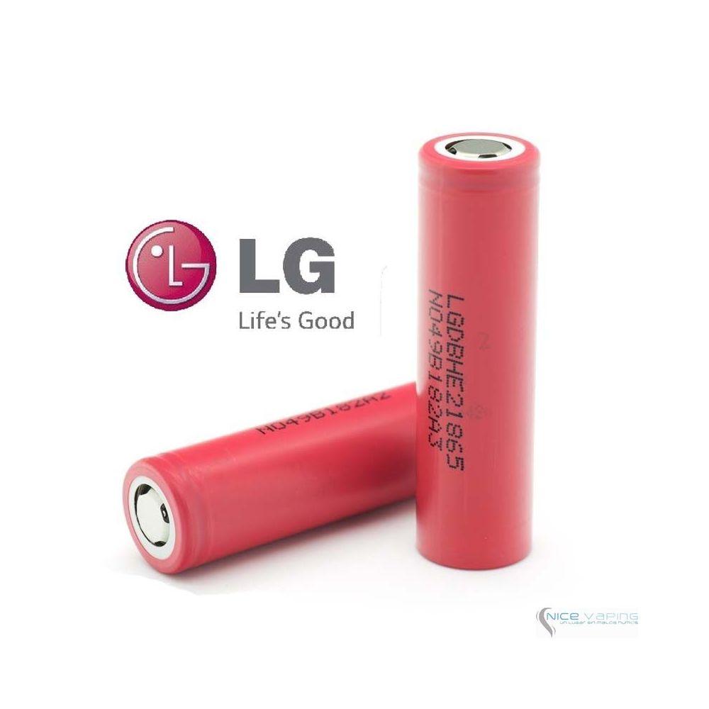 LG HE2 18650 20A/35A, 2,500 mah, Flat