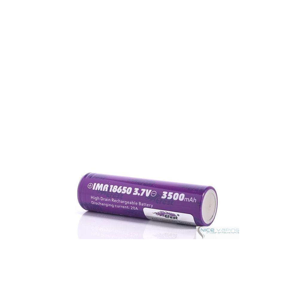 Efest 18650 Flat Purple 3500mah 20A
