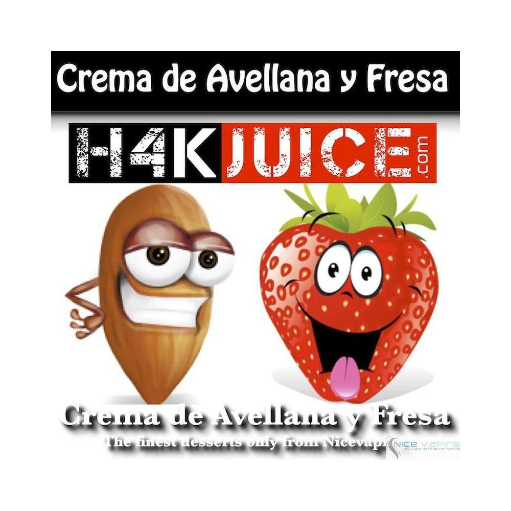 Crema de Avellana y Fresa