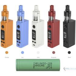 eVic VTwo Mini with CUBIS Pro 75W + Bateria Samsung 2,500 mah by Joyetech Upgradeable