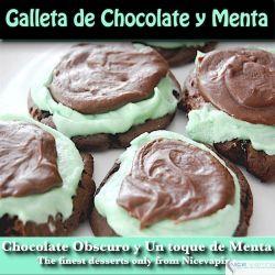 Galleta de Chocolate & Menta Premium