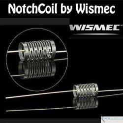 Wismec NotchCoil @4.8mm, 0.23 ohms