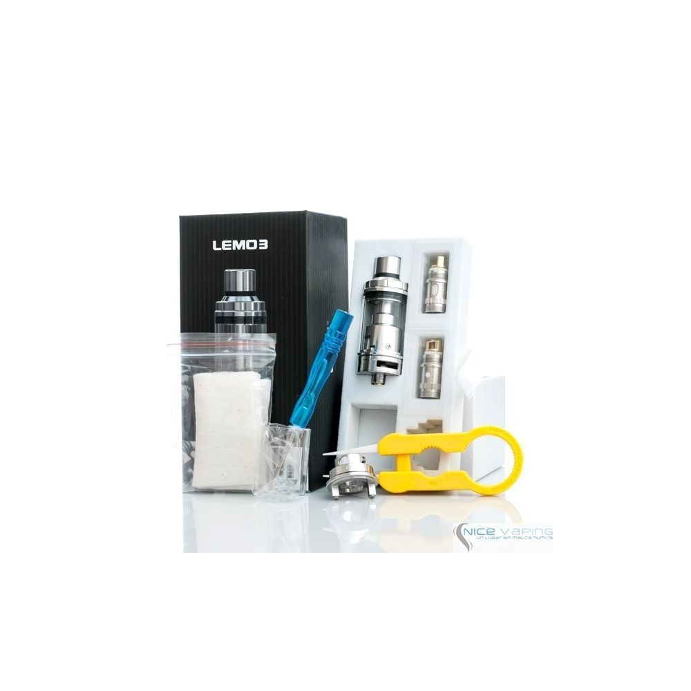 Lemo 3 RBA/RTA by Eleaf @4 ml, Acero