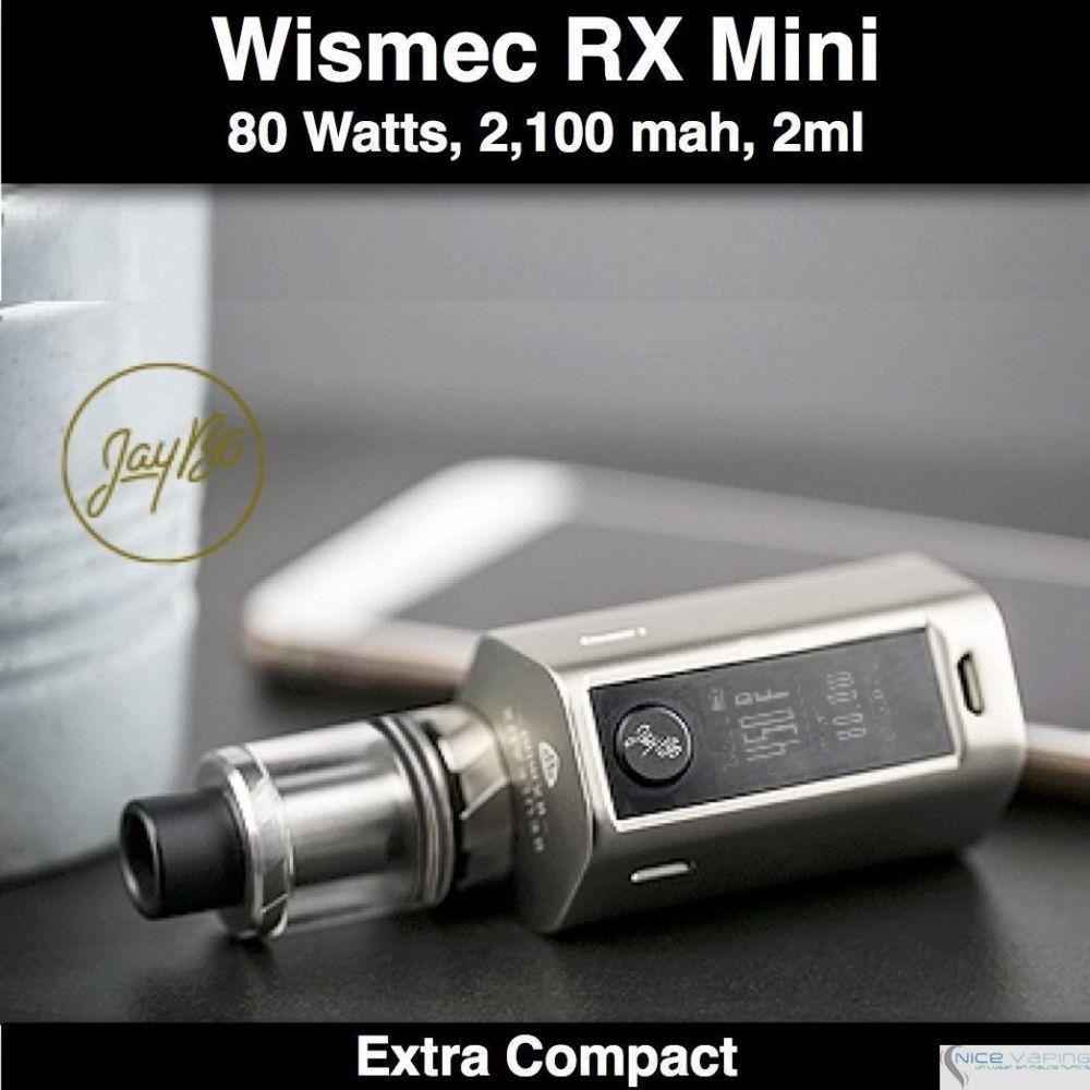 Reuleaux RX Mini Wismec 80W, 2100mah, 2ml