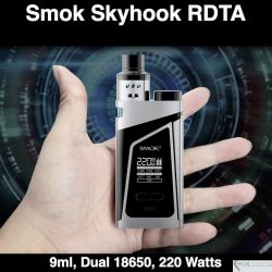 SMOK Skyhook RDTA Kit 220W @9ml