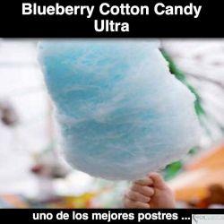Algodon de Azucar de Moras Azules ULTRA