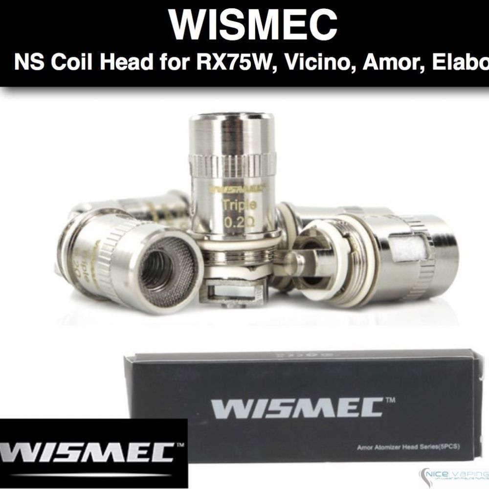 Resistencia Wismec NS para RX75, Armor Tank, RX mini, Elabo Tank, Predator 228 y Vicino Mod