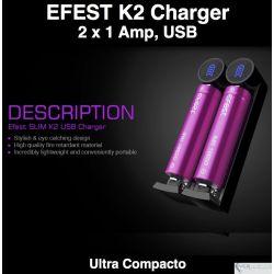Efest Slim K2 Charger