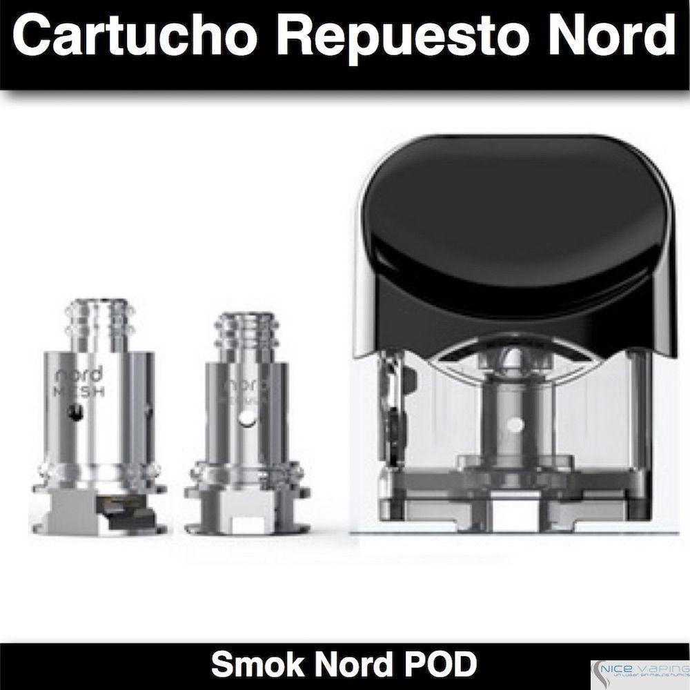 Tanque Repuesto Smok NORD POD
