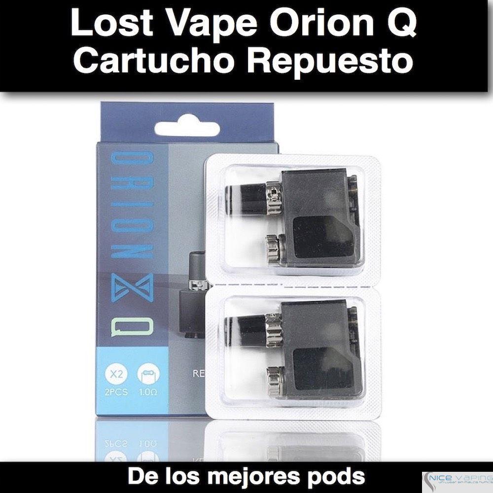 Lost Vape Orion Q Quest Replacement POD coil 1.0 homs @ 2ml