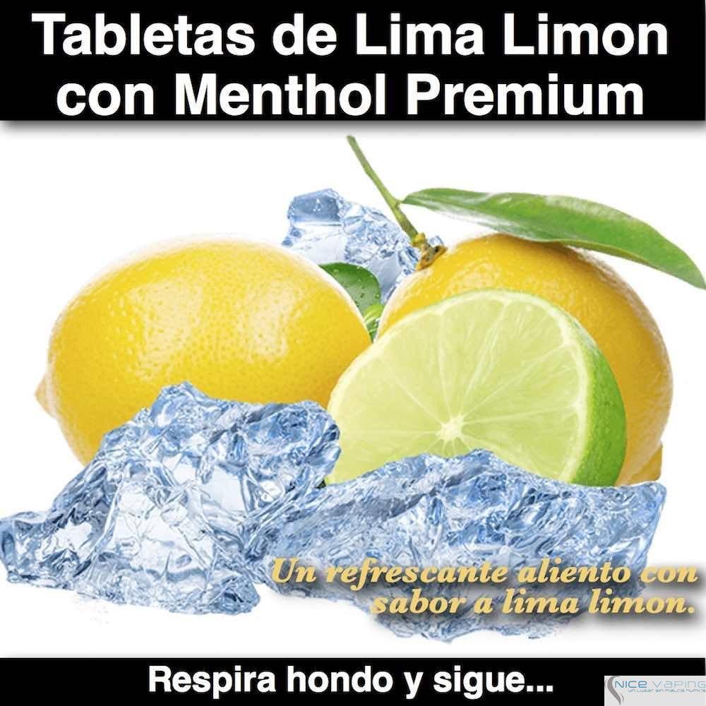 Tabletas de Menthol con Lima Lemon Premium