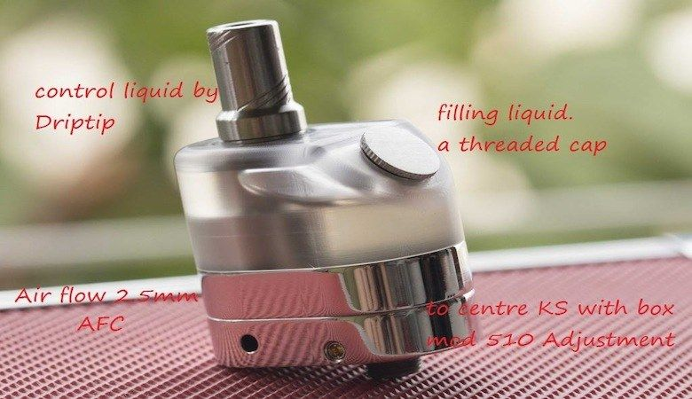 KS RTA Square Tank 7 ml,