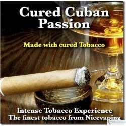 Cured Cuban Passion Premium e-liquid