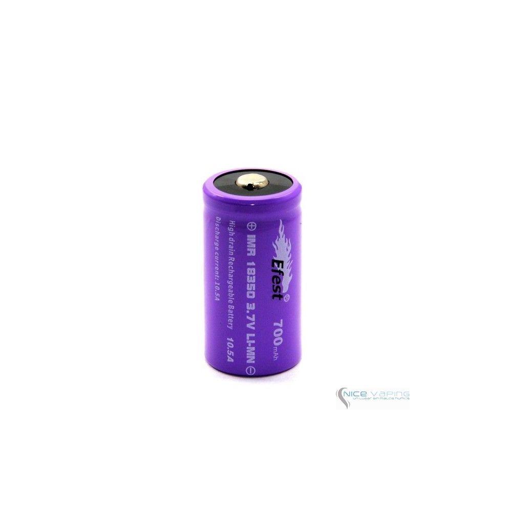 EFEST 18350 TOP Purple