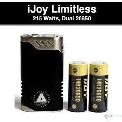 ijoy Limitless LUX DUal 26650 - 215 Watts