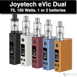 eVic VTC Dual ULTIMO KIT 75, 150W by Joyetech, Actualizable