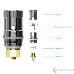 EC, ECR & ECL Coil iJust 2, iJust S, Pico, Melo 2 & 3 Coil by Eleaf