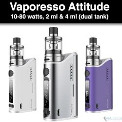 Vaporesso Attitude 80W Kit - Ceramic & Cotton