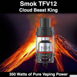 Pyrex Smok TFV12 @28mm, 6ml, 350 Watts