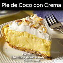 Pie de Coco con Crema Premium
