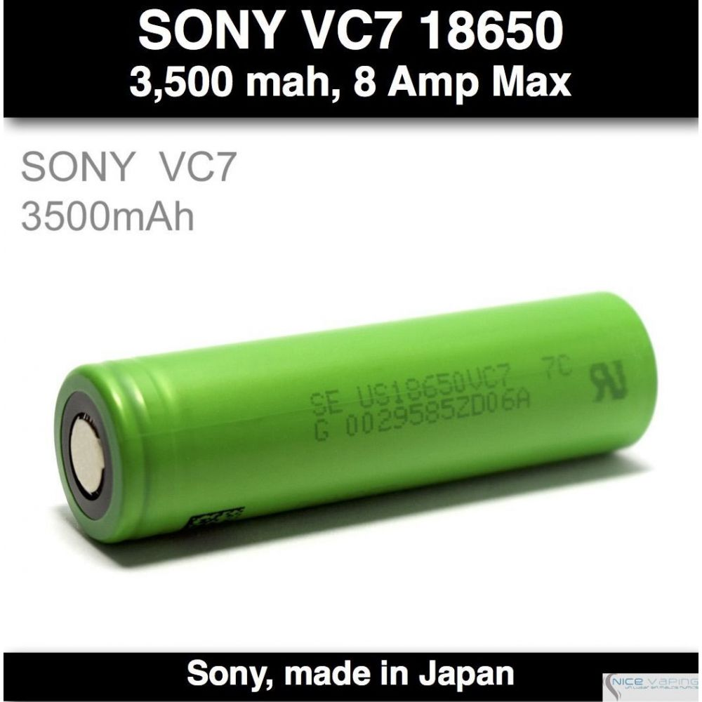Sony VC7 30A 3500 mah 8 Amp Maz