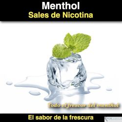 Menthol- (Nicotine Salts)