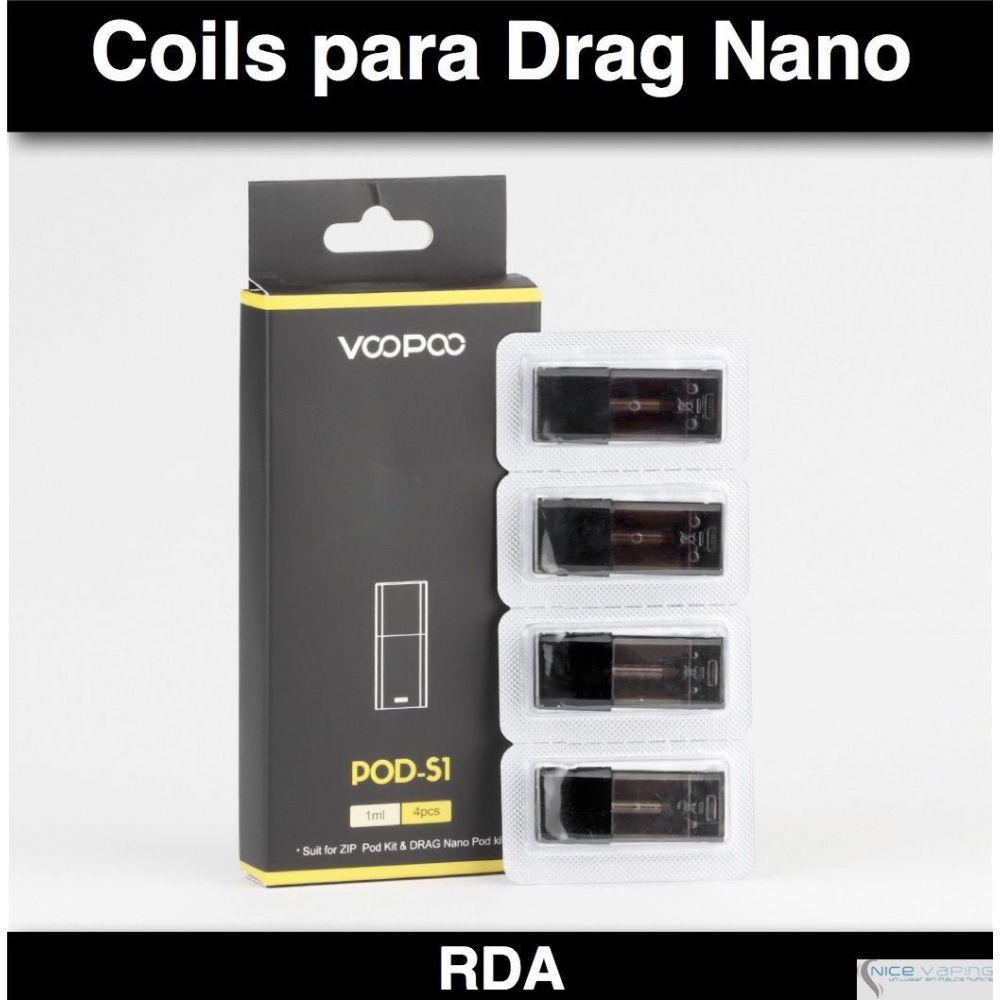 Resistencia Drag Nano VooPoo