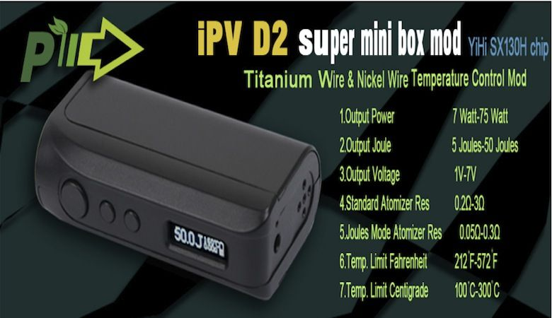 IPV D2 75W TC by Pioner4You