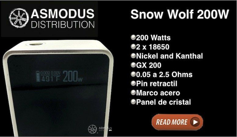 Snow Wolf by Asmodus, a beast of vapor