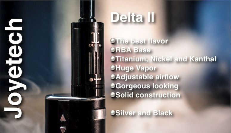 Delta II, un sabor incomparable por Joyetech